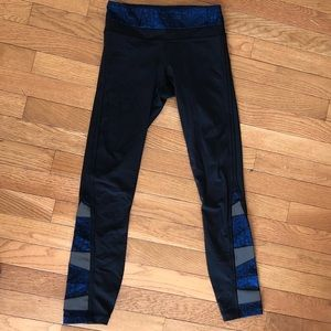 """Lululemon leggings 25"""", size 2"""
